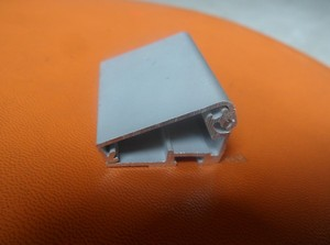 2.5公分平盖超薄料灯箱铝型材