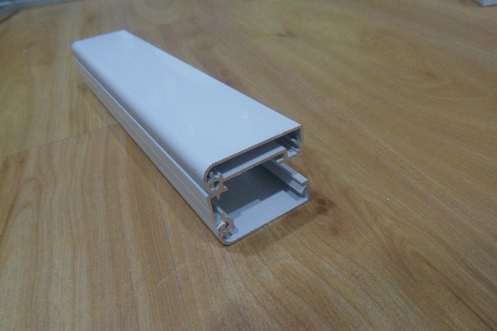 4cm农行白色圆角超薄灯箱铝型材